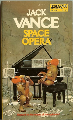 Jack Vance - Space Opera - cover artist Don Maitz - DAW 336 - 1st DAW edition April 1979