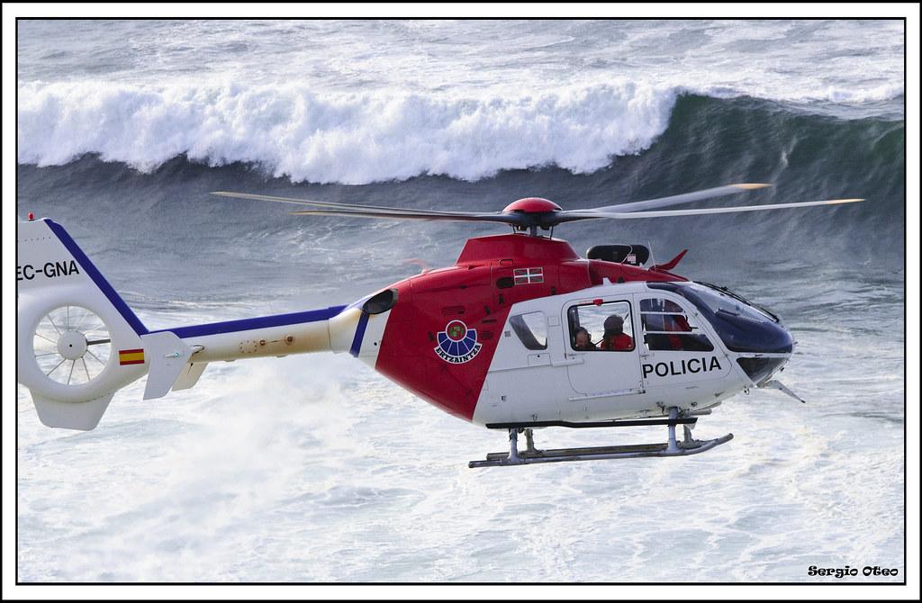 Helicóptero Ertzaintza