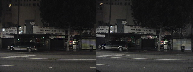 3D, Payphone 323-461-2073, Vine Theatre, 6315 Hollywood Boulevard, Hollywood, California, night, 2010.04.18 22:37 34.101753,-118.327574