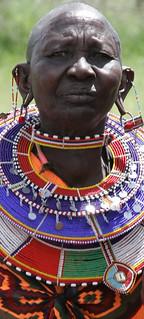 Kitengela rangeland in Kenya: Maasai women