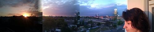 finaly..... juten morgen Berlin #sonnenaufgang