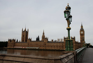 Houses of Parliament, Big Ben, Westminster Bridge.. vuoto (alle 7 di una domenica mattina)!