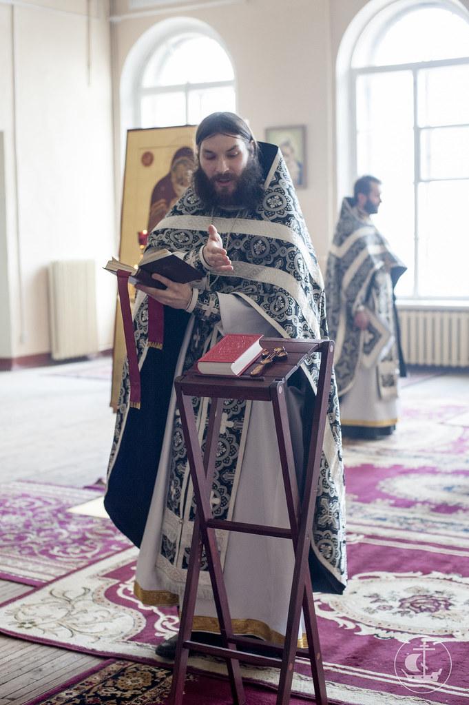 7 марта 2014, Литургия Преждеосвященных Даров / 7 March 2014, Divine Liturgy of the Presanctified Gifts