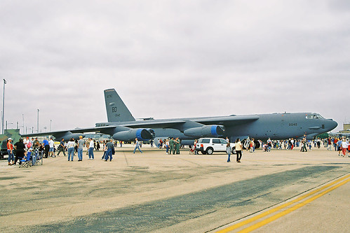 B-52 on Display, NAS Ft Worth Open House