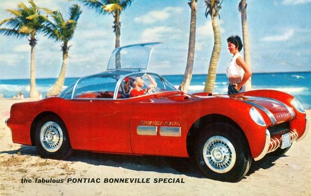 1954 Pontiac Bonneville Special Concept Car ad