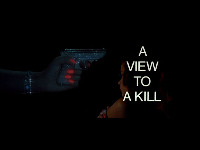 Header of A View to a Kill
