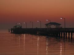 Ballast Point Pier at sunrise