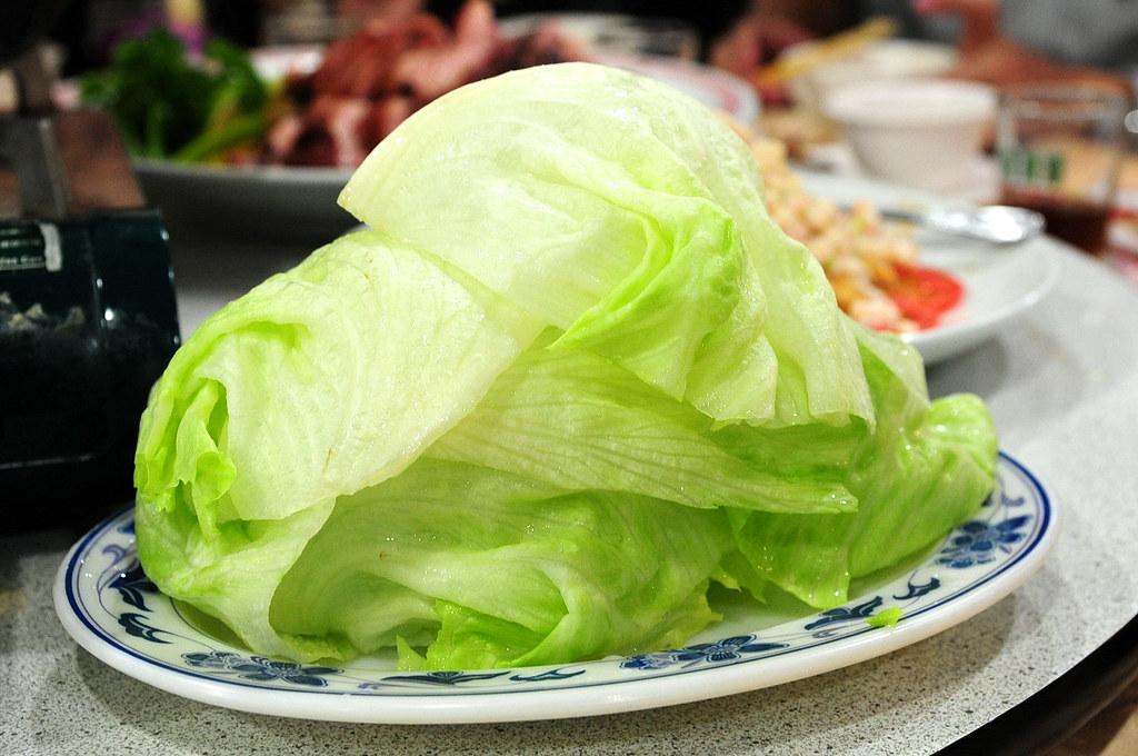湘鼎坊-蝦鬆的萵苣