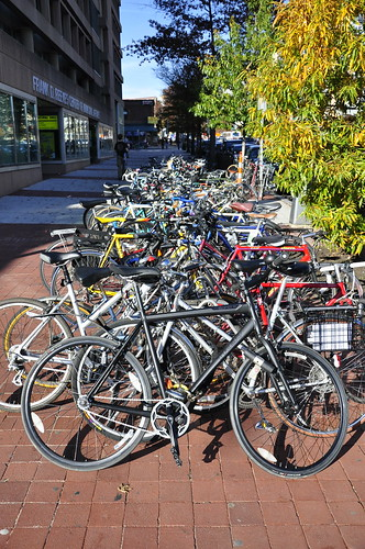 Bike Parking at Reeves