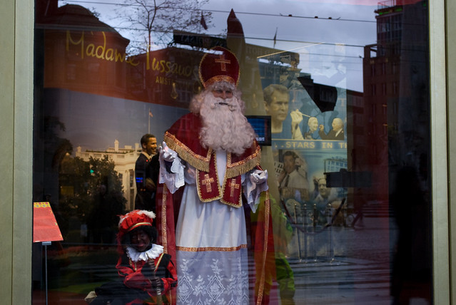 glassed Sinterklaas, Amsterdam, Nov 2009