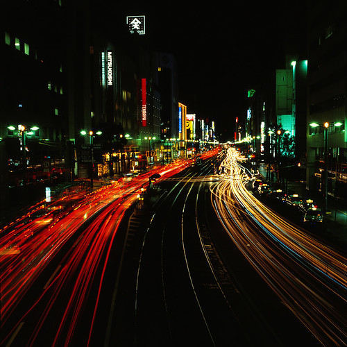 night hiroshima bronica streetcar e100vs 2009 広島 bronicas2 八丁堀 zenzabronica zenzabronicas2 ekthacrome akiraaskr