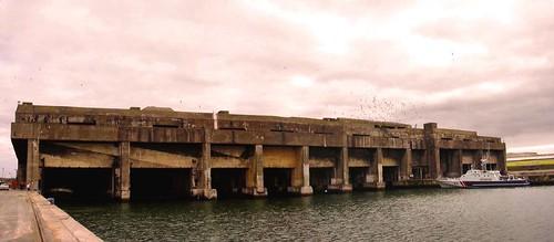 Muelle de Submarinos Alemanes (La Pallice, LR)