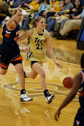 The Photo Way: Virginia at Georgia Tech women's basketball