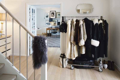 Malene birger s copenhagen home the style files - Burros para ropa ...