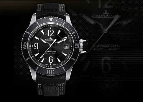 e8905d98bdb ... JLC Master Compressor Diving Automatic NAVY SEALs is a smaller (42mm)  stainless steel version