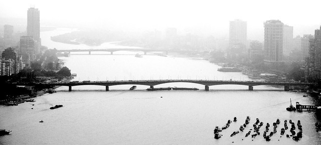 The Nile in B&W