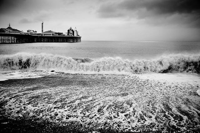 Brighton Beach by flickr user dogfrog