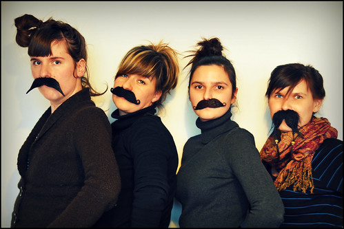 moustache monday by vie!