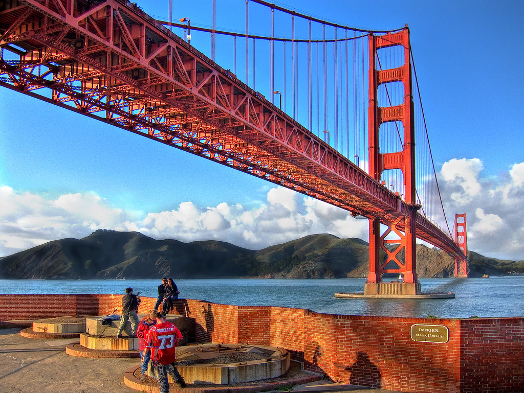 Golden Gate Bridge (Canon PowerShot S90 HDR) by SJL