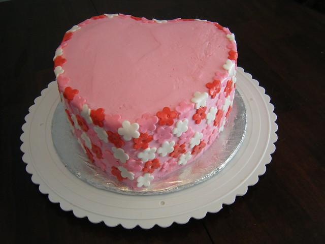Gabys Valentine Birthday Cake  Flickr - Photo Sharing!