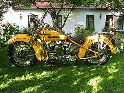 Harley Davidson WL 750 1949