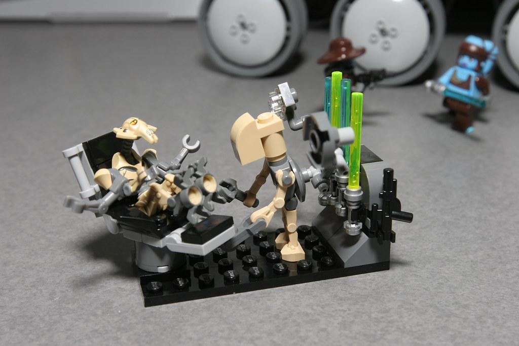 LEGO Toy Fair 2010  Star Wars  8095 General Grievous Starfighter