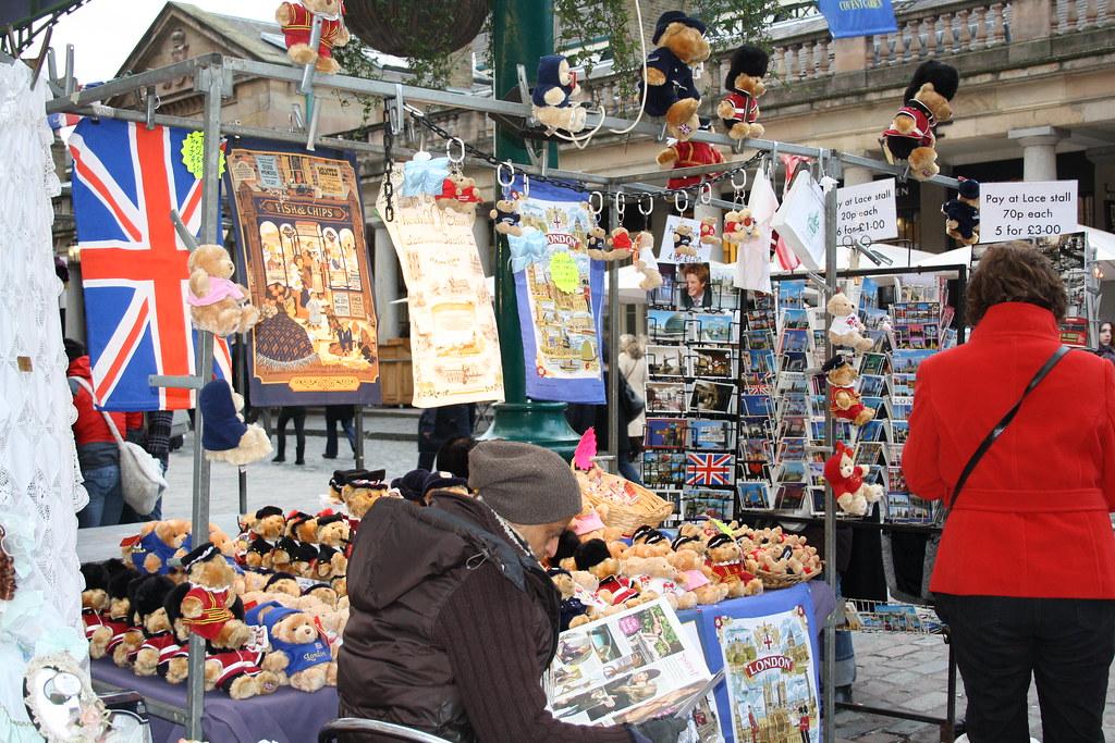 London Market Stall