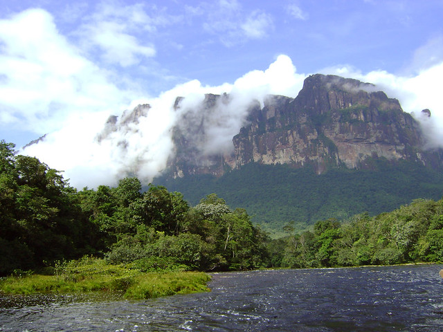 Clouded Walls - Canaima National Park, Venezuela