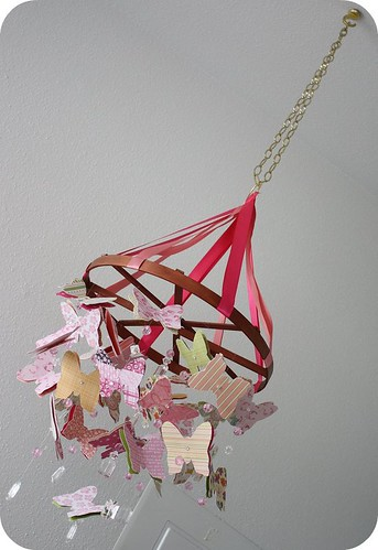 Baby Blog Diy Butterfly Mobile See Spawnie 39 S And How To