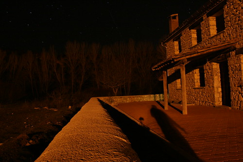 the rural house & stars