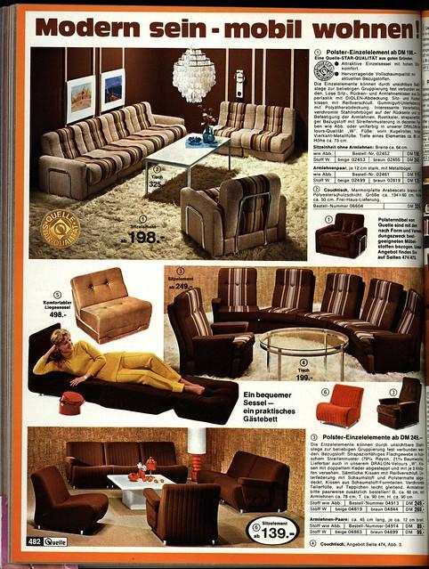 1972 Quelle 482 Sessel