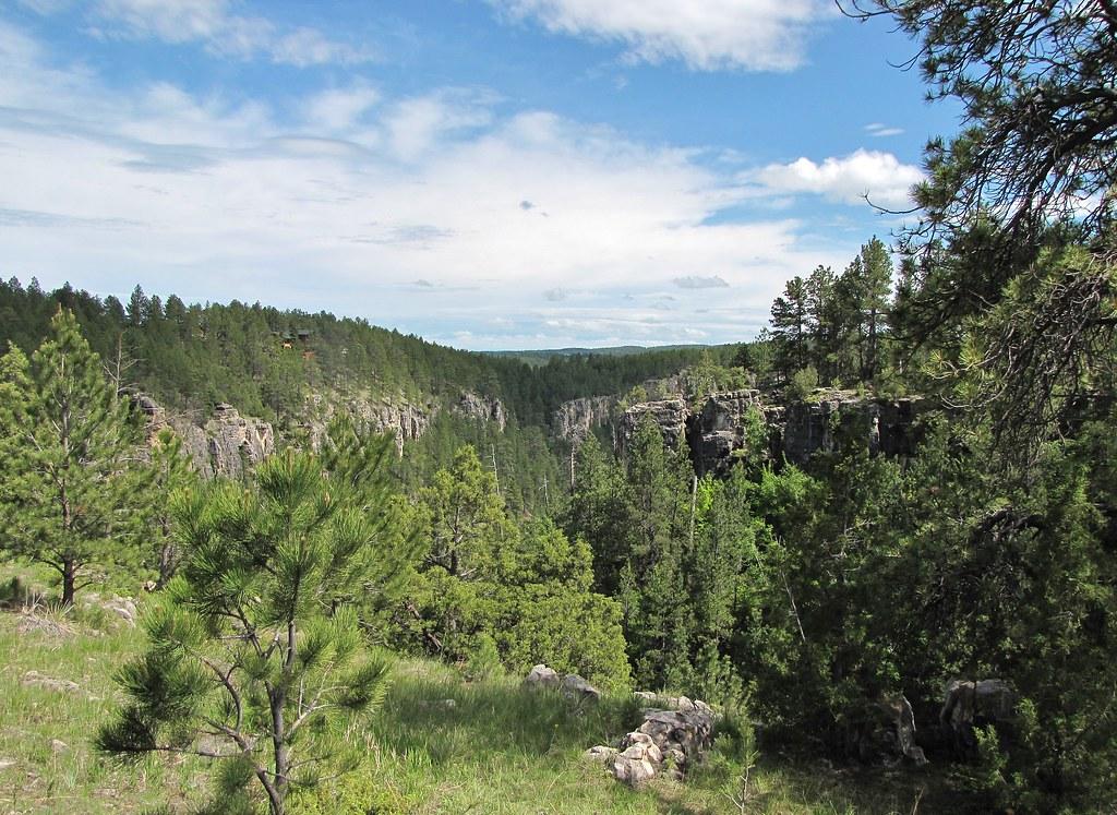 Dark Canyon South Dakota Tripcarta