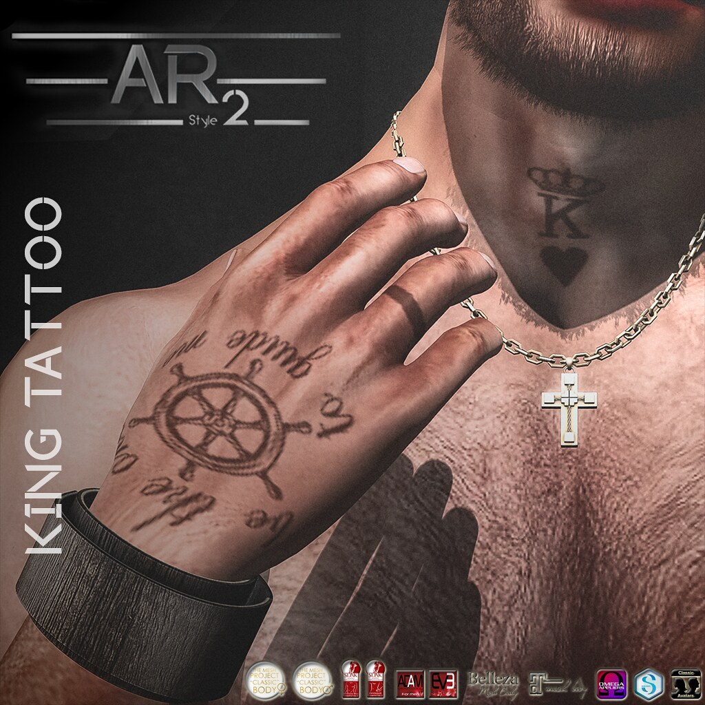 [AR2 Style] King Tattoo - SecondLifeHub.com