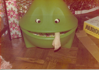 Patty in frog 001