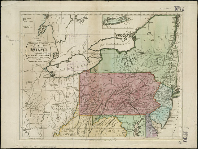 Map Of Ohio And Pennsylvania http://www.flickr.com/photos/normanbleventhalmapcenter/4231299925/