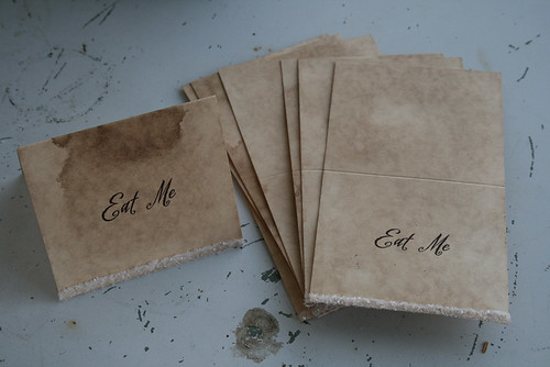 """""""Eat Me"""" Buffet Table Cards"""