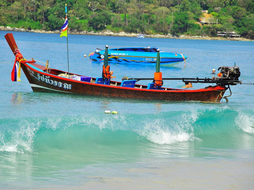 Longtail Boat - Phuket, Thailand