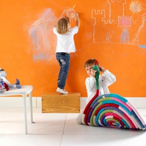 Mi rinc n de sue os pintura de pizarra - Pintura para habitaciones infantiles ...