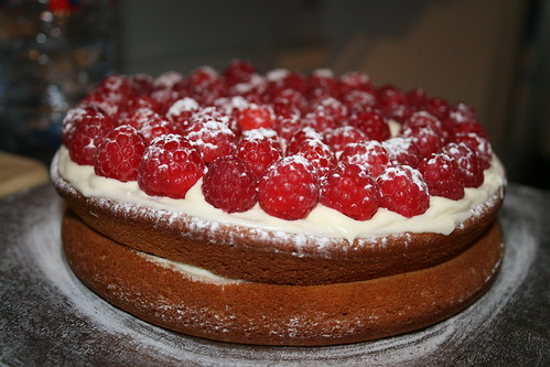 The best homemade cake in the world!