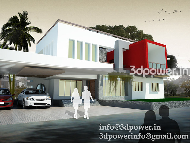 Rendering India 3d Modeling India Bungalow India Bungalow