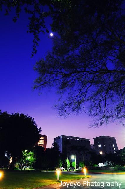 中研院的藍色時光