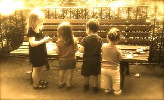 Bambini di diverse dimensioni