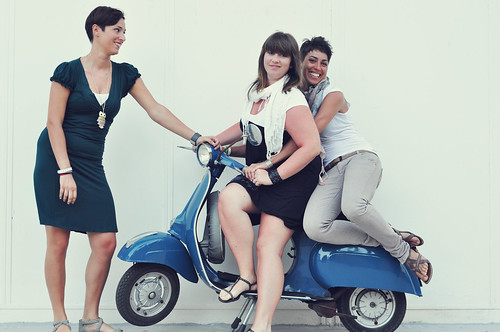 Girls + Vespa by gingerengs