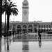 Ferry Building, rainy day