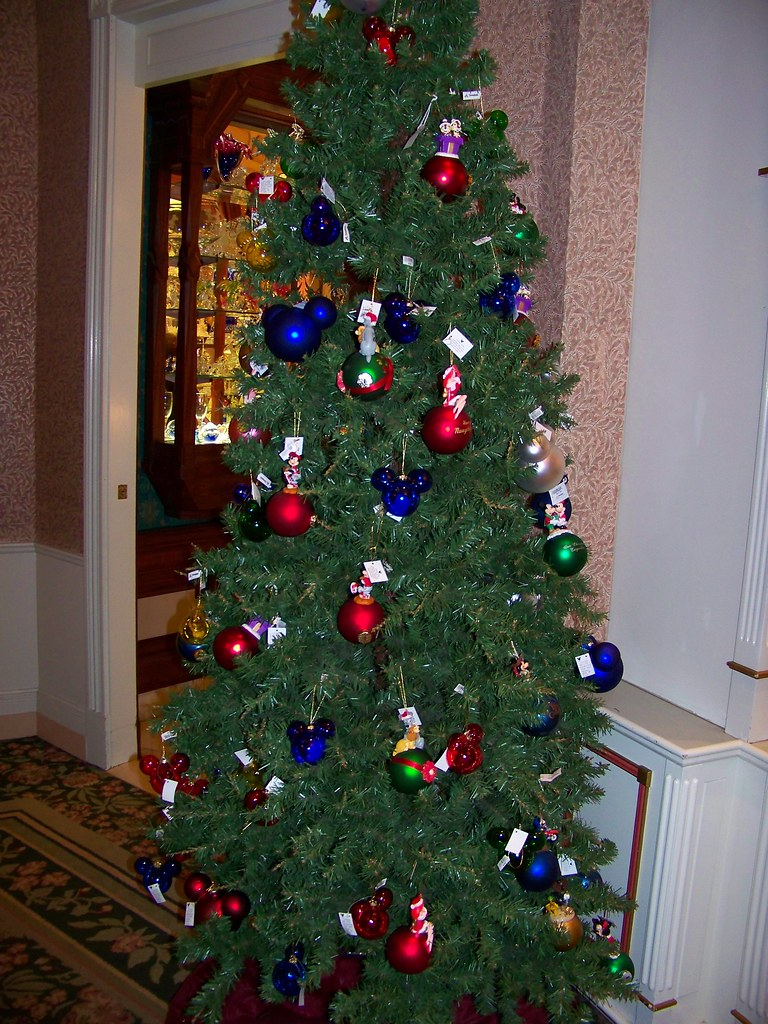 Christmas Tree In The China Closet Flickr Photo Sharing