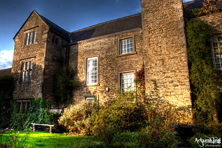 Carnfield Hall - Back - HDR
