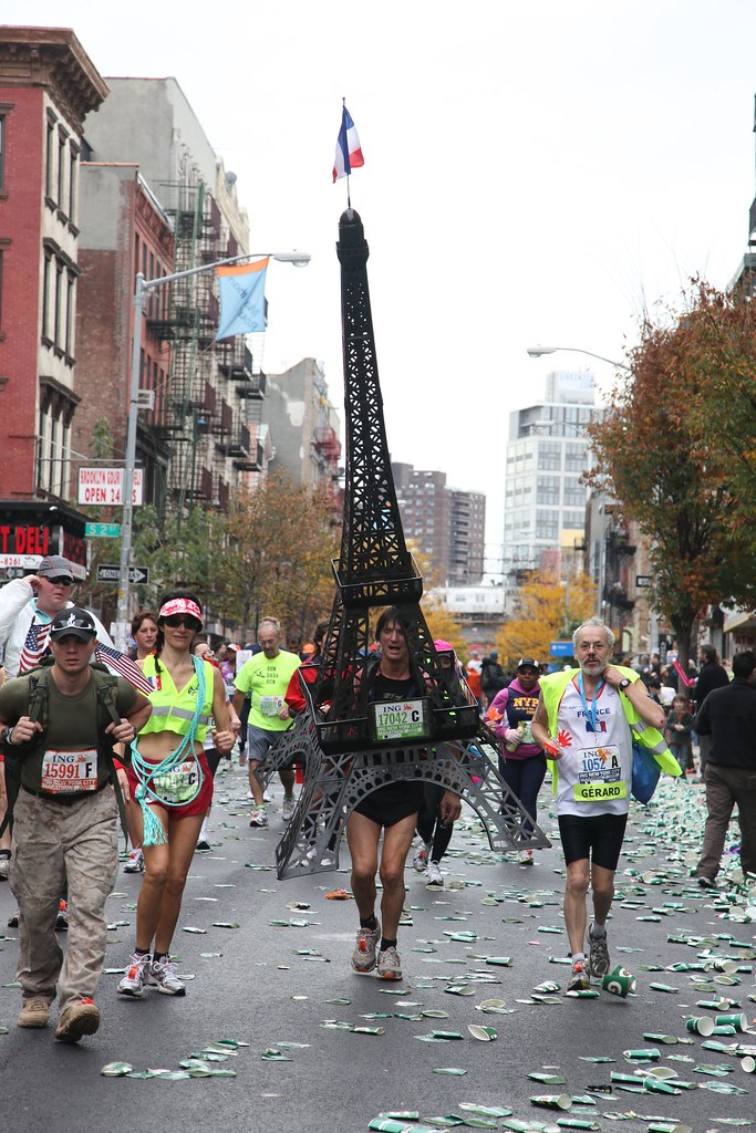 Fotos de los disfraces del New York City Marathon 2009