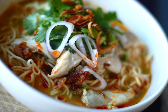 khao Soi gai , Chiang Mai Chicken noodles | Flickr - Photo Sharing!