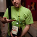 Dave drank half a jug of wine