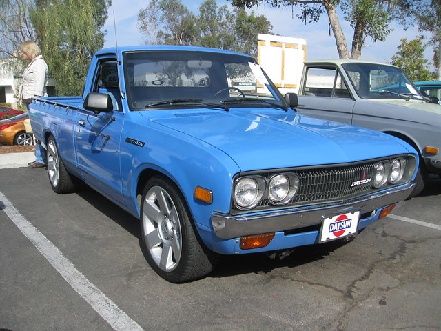 1974 Datsun Pick Up for Sale http://www.flickr.com/photos/mr38/4083702685/